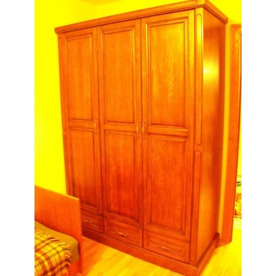 Spinta 3 durų su stalčiais Klasika