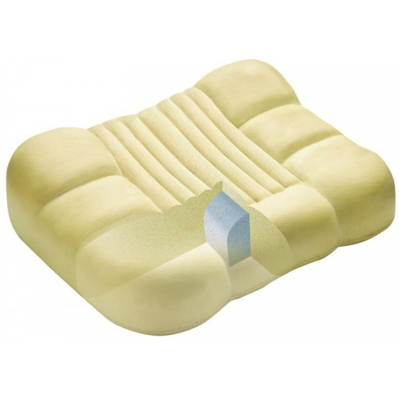 Viskoelastinės medžiagos pagalvė, mažinanti knarkimą