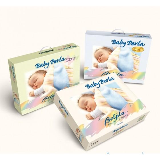 Prabangus pledas kūdikiui BABY PERLA GOLD 542