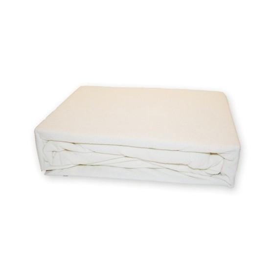 neperšlampama paklodė iš medvilnės su gumele aplinkui