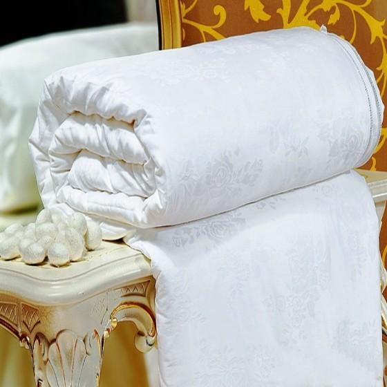 Šilko antklodė plona su 0,5 kg šilko užpildu, aukščiausios klasės