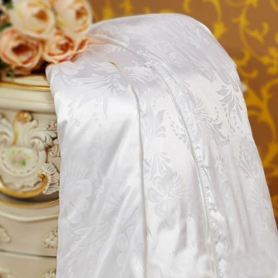 Šilko antklodė plona su 0,4 kg šilko užpildu, aukščiausios klasės