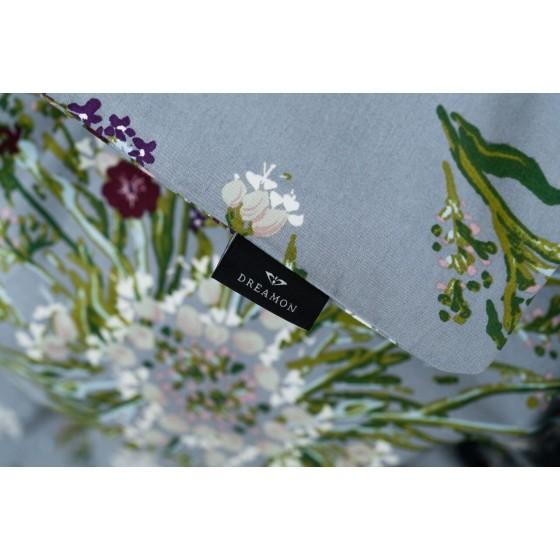 """Patalynės komplektas """"Crown of flower grey"""" iš Dreamon kolekcijos"""