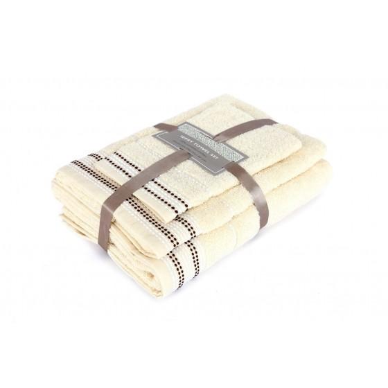 """3 dalių rankšluosčių rinkinys """"Vanilla"""""""