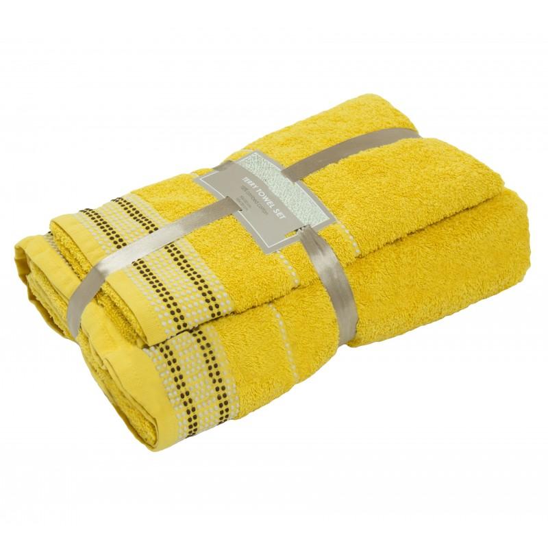 2 dalių rankšluosčių komplektas Yellow
