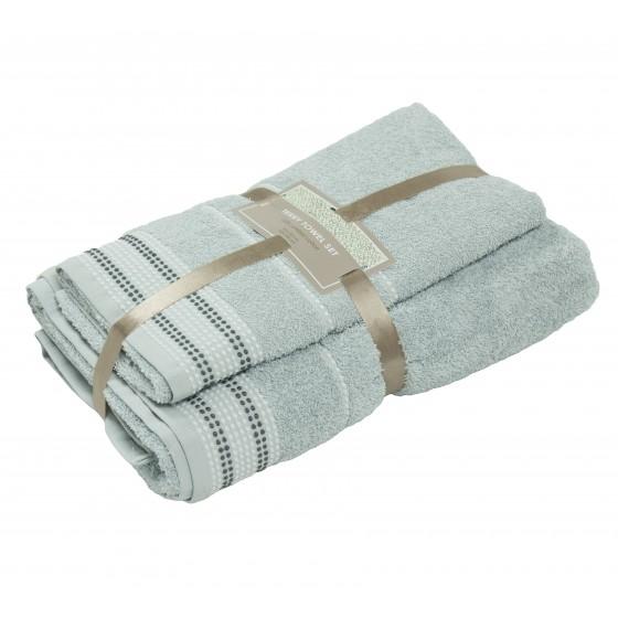 """2 dalių rankšluosčių rinkinys """"L.grey"""""""