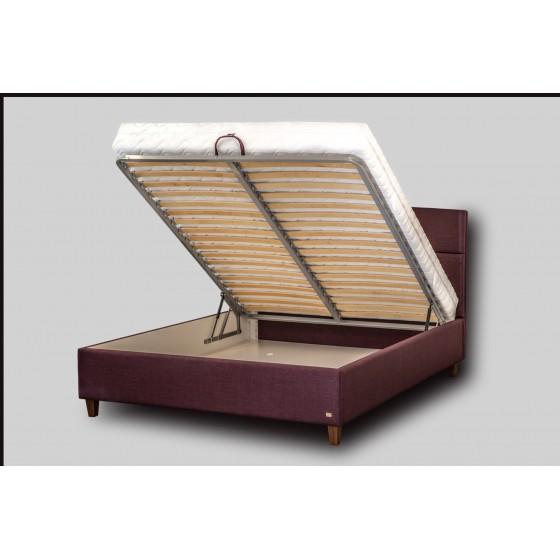 Dvigulė lova Verona su patalynės dėže