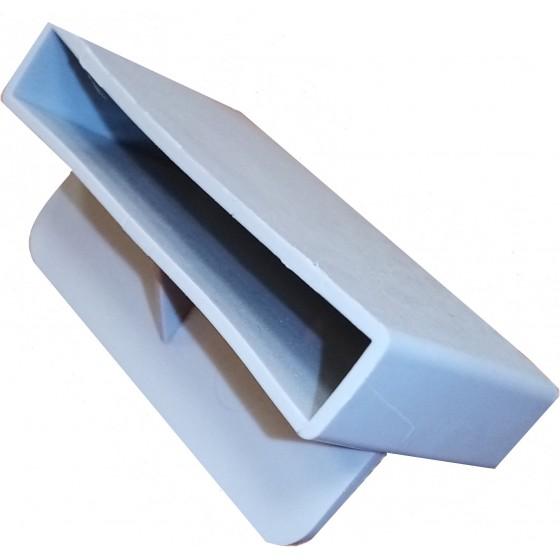 Plastikinis lovų grotelių laikiklis (50x8/10 mm)