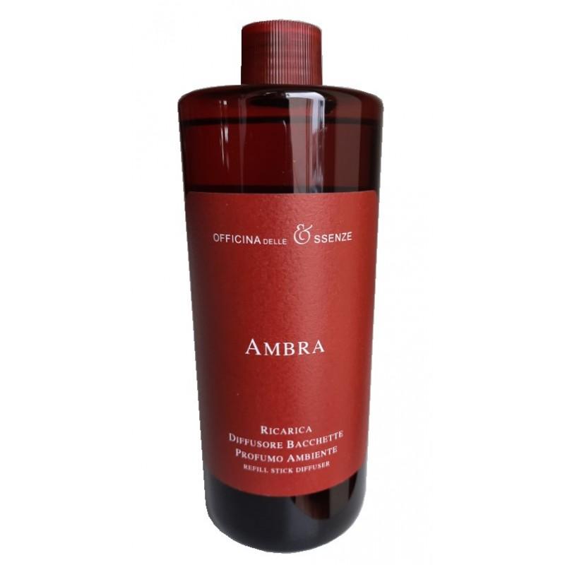 Officina Delle Essenze namų kvapų papildymas AMBRA 500 ml