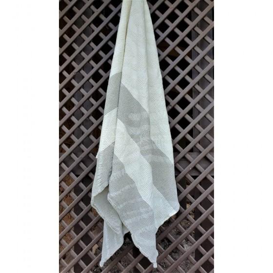 Puslininis pirties rankšluostis Smėlio kopos (linas 75%)