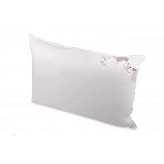 Aukšta pagalvė su 90% žąsų pūkų užpildu - miegoimperija.lt