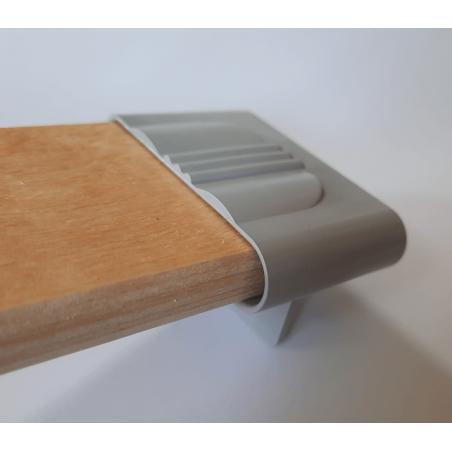 Plastikinis lovos grotelių laikiklis 50x10