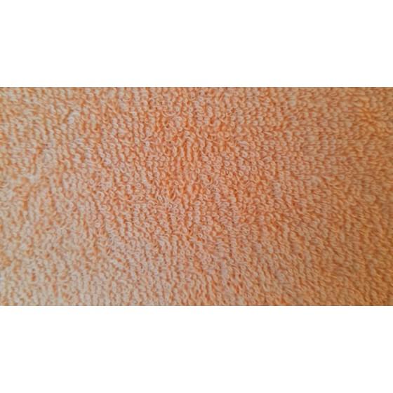"""Persikinė frotinė paklodė su guma ( su """"sijonu"""")"""